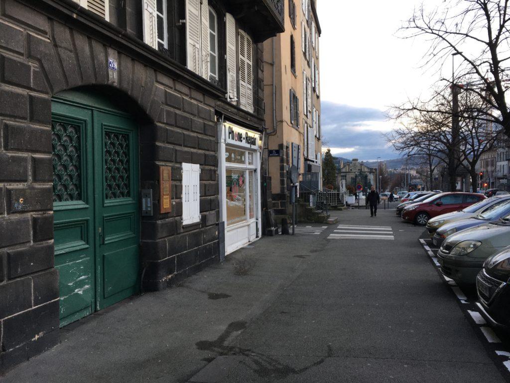 Entrée du bâtiment - Cabinet Marc Guccino & Carole Girard