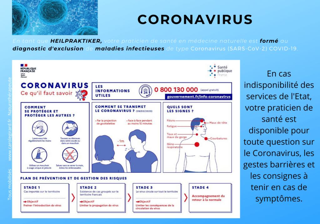 Prévention Coronavirus : appliquer les gestes barrières et s'assurer que son système immunitaire est performant