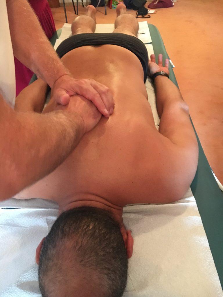Technique manuelle et libération des douleurs et tensions