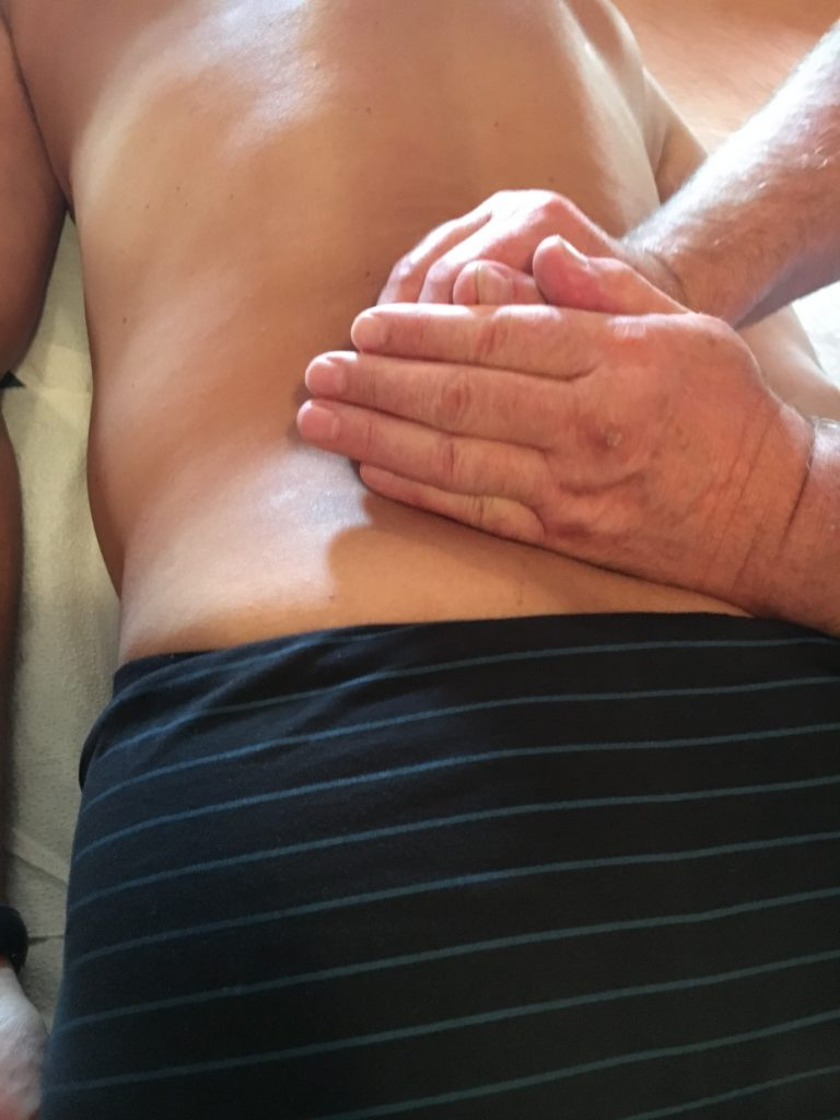 Massage drainant avec acupression